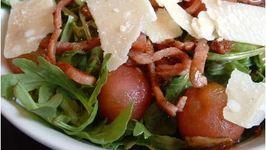 Basil, Rocket and Roasted Tomato Salad