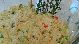 Betty's Holiday Turkey Salad -- Christmas