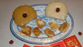 How to Make 2 Kinds of Chinese New Year Cake (Lin Gou)