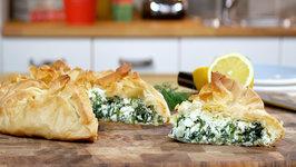 Kary Osmond Spinach and Ricotta Pie