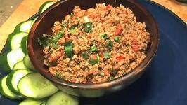 Easy Thai Spicy Pork Dip Recipe (Nam Prik Ong)