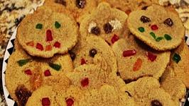 Halloween Sugar Cookies (Scary)