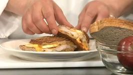 Apple Pork Panini Sandwich