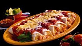 Protein Power With Tasty Beef Enchilada
