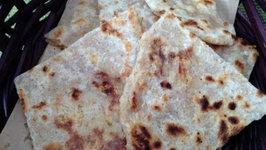 Puran Poli (Holi Snacks) - Indian Flatbread Stuffed with Lentils and Coconut
