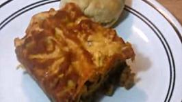 Spinach Lasagna(e) with Homemade Ragu
