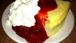 Original Cheesecake With Strawberries