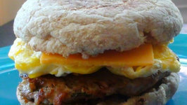 Make Ahead Turkey Sausage and Egg Breakfast Sandwiches