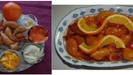 Sweet and Sour Shrimp (pork)