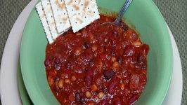 Chipotle Three Bean Chili - Vegan