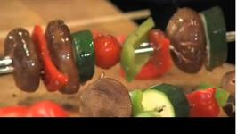 Fruits and Veggie Kabobs