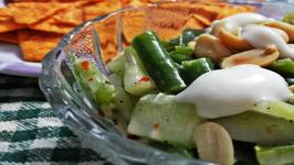 Vegetarians Delight - Creamy Vegetable Salad