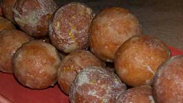 Orange Olive Oil Donut Holes