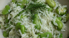 Broad Beans With Rice