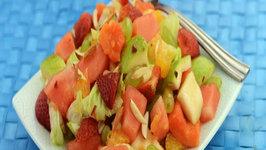 Fruit and Lettuce Salad by Tarla Dalal