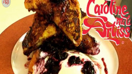 How to make Brioche French Toast with Blueberry Compote