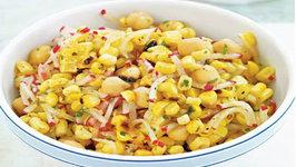 Wegmans Grilled Corn, Bean and Radish Salad