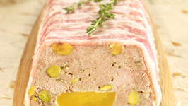 Pork, Nectarine and Pistachio Terrine