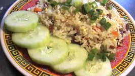 Fried Rice With Chinese Sausage