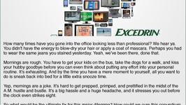 Excedrin Whats Your Headache
