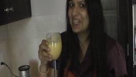 How to Make Mango Lassi  Indian Mango Drink
