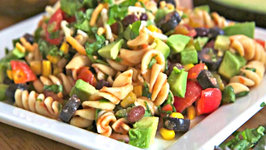 Taco Pasta Salad  - Light and Delicious