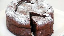 Dark Chocolate and Raisin Cake