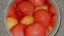 Minted Watermelon Balls