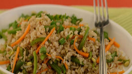 Bean Sprouts Fried Rice (Fibre Rich) by Tarla Dalal