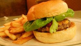 Cedar Planked Meatloaf Burger (Sandwich)