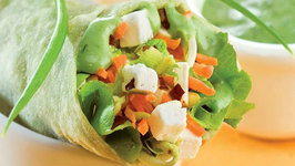 Herbed Cottage Cheese Wrap