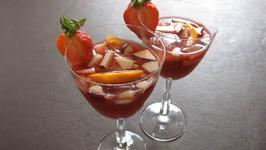 Orange Strawberry Sangria