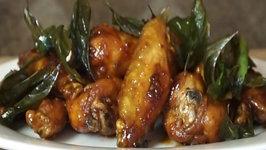Thai Glazed Garlic Chicken Wing