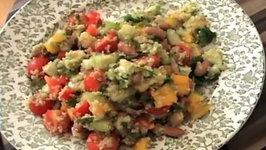 Zuza Zak's Weeknight Dinner Quinoa and Bean Salad
