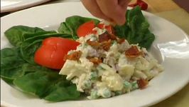 White Fish and Potato Salad