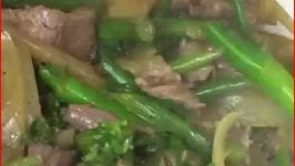 Healthy and Beef Vegetable Stir-fry Cooking - Part 2