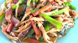 Stir Fried, Chinese Watermelon Rind