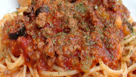 Pantry Cooking Old Fashioned Spaghetti with Meat Sauce