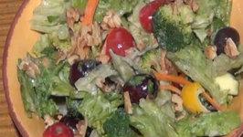 Broccoli and Lettuce Salad - Healthy Salad