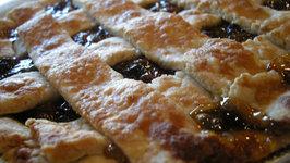 Seeded Malaga Raisin Pie