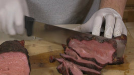 Slicing Beef Tri Tip Roast - BBQ Tips Tricks