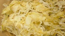 Raw Sauerkraut  - Part 1