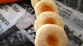 How to Make Jam Thumbprint Cookies- Christmas Cookies