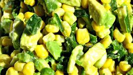 Avocado and Corn Salad
