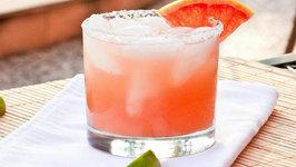 Red Grapefruit Margarita