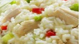 Chicken Rice With Yogurt Salad
