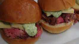 Chimichurri Aioli - The Perfect Addition to Our Superbowl Sliders