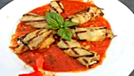 Eggplant with Cashew Cheese