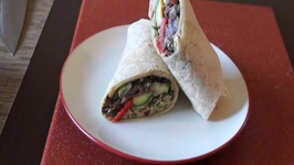 The Sexy Vegan Cooking - Episode 35 - How to Make A Wrap