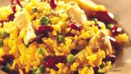 Artichoke and Kidney Bean Paella